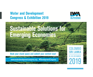 IWA WDCE Water and Development Congress & Exhibition 1-5/12/2019 Colombo Sri Lanka