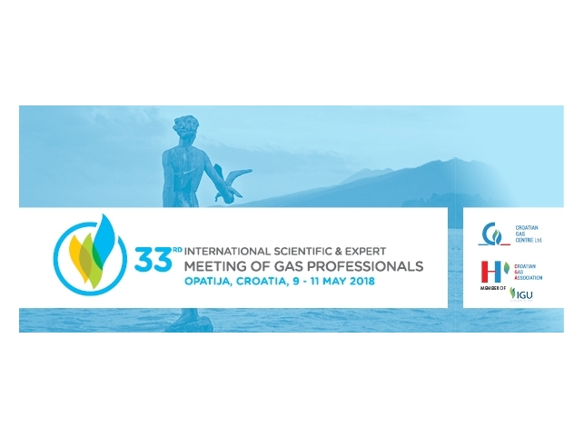 Call for Papers of the 33rd International Scientific & Expert Meeting of Gas Professionals,
