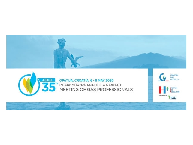 Call for Sponsors and Exhibitors - JUBILEE 35th International Scientific & Expert Meeting of Gas Professionals
