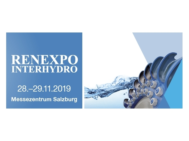 Welcome to the 11. RENEXPO INTERHYDRO at Messezentrum Salzburg!