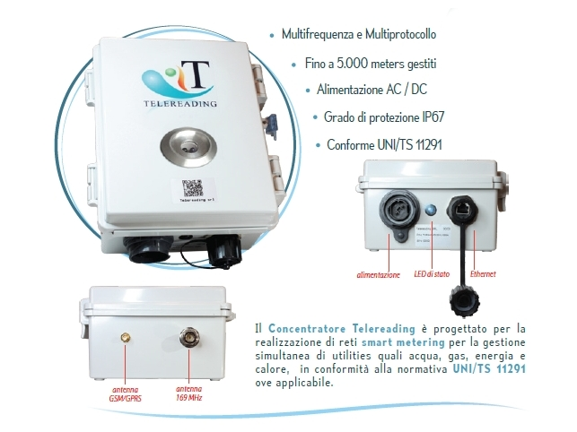 Concentratore TLR-0003-B a